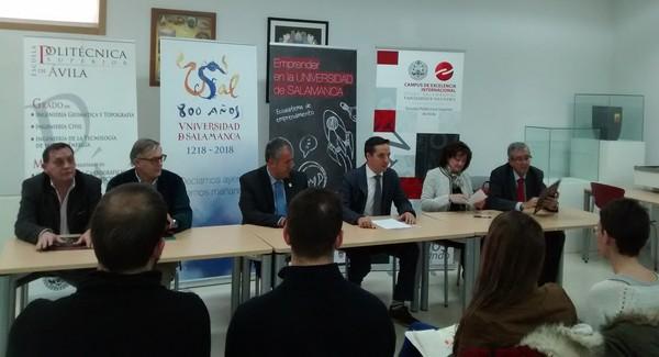 Inauguración espacios de emprendimiento en Ávila