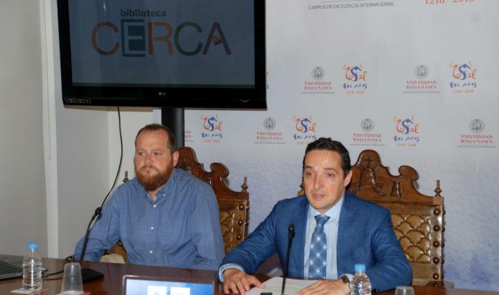Juan Manuel Corchado y José Antonio Merlo Vega.