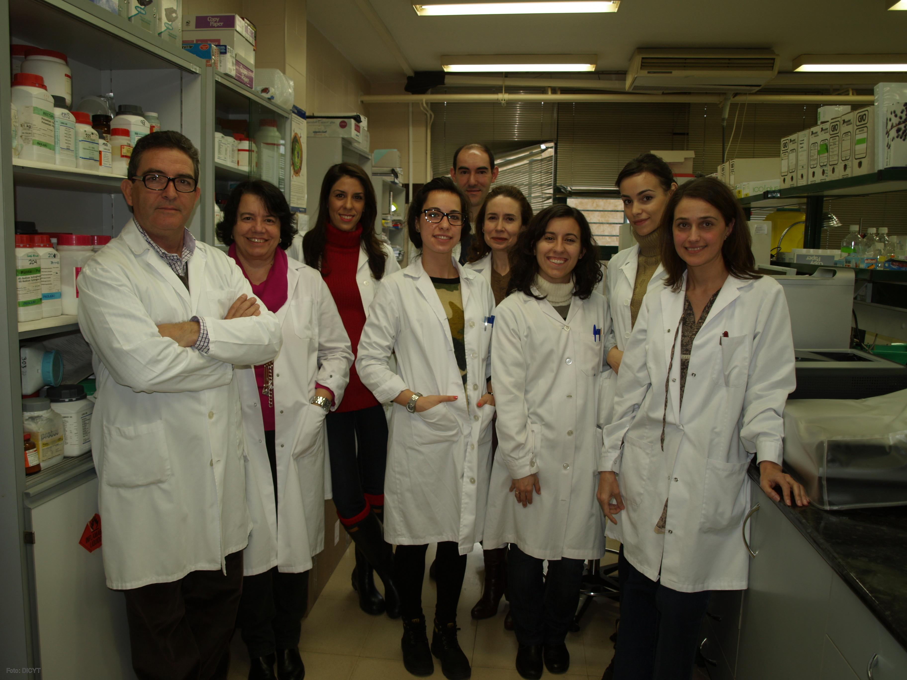 Investigadores del Laboratorio de Hepatología Experimental de la USAL