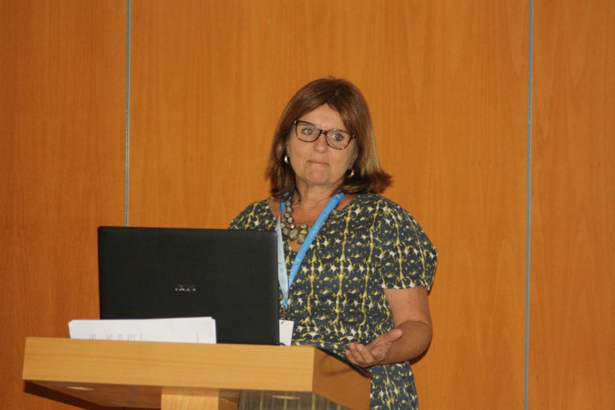 Congreso Bio-Iberoamérica. Lourdes Cabral.